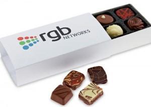 Premium Range Eight Chocolate Box With Printed Sleeve