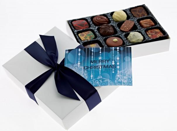 Christmas corporate chocolates