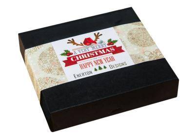 25 chocolate box with printed sleeve