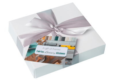 36 chocolate box with printed card