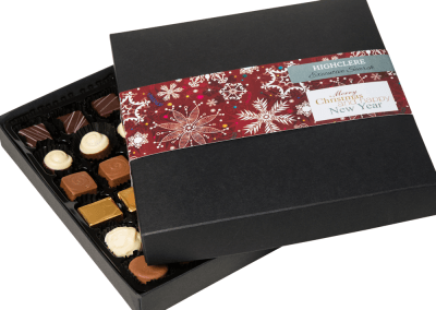 36 chocolate box with printed sleeve