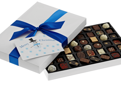 48 chocolate box with printed card