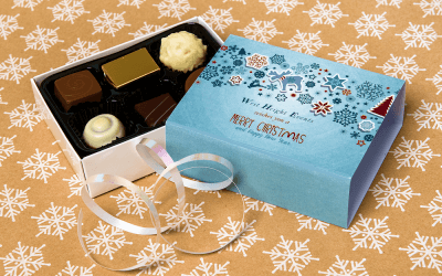 Order Personalised Chocolates Just 7 Days Before Christmas?  Yes!