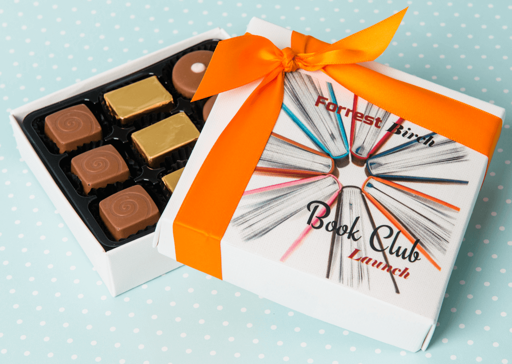 Personalised Printed Chocolate Boxes