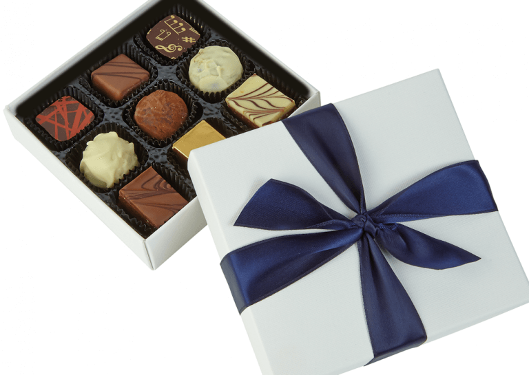 Unbranded chocolates box